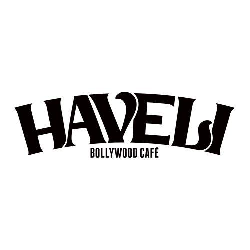 Logo for Indian restaurant 'Haveli'  www.droneboycreate.com