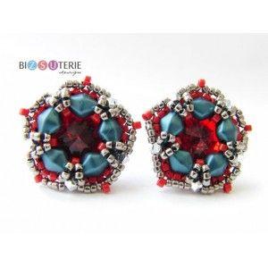Sashka earrings - inst. downl. beading pattern