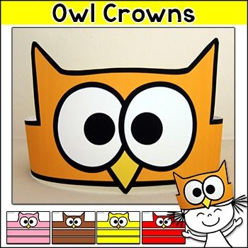 Beginning of the Year - Owl Crowns for the first day of school, rewards, team…