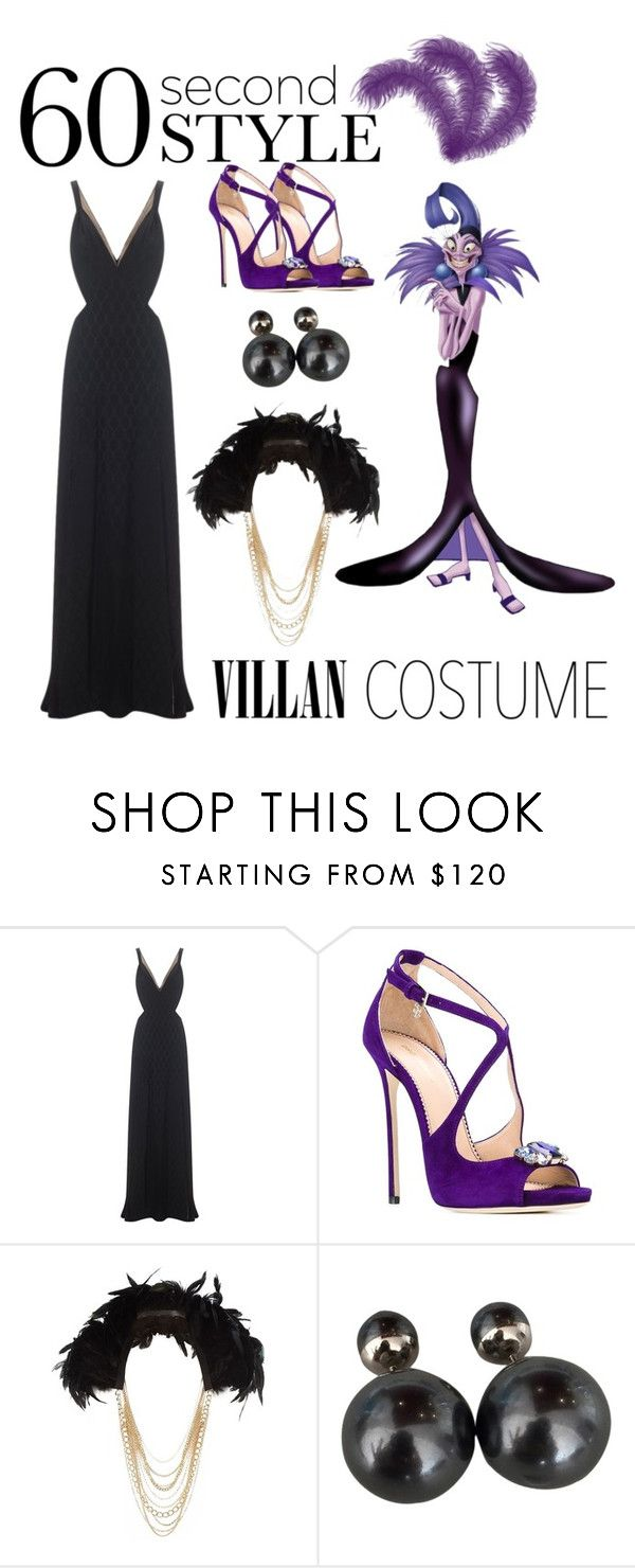 """44: Yzma Villain Costume"" by patricia7 ❤ liked on Polyvore featuring Temperley London, Dsquared2, River Island, Christian Dior, Halloween, 60secondstyle and villaincostume"