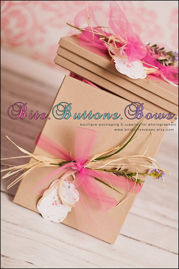 Photography Supplies 6 Piece Boutique Packaging by BitsButtonsBows, $8.00