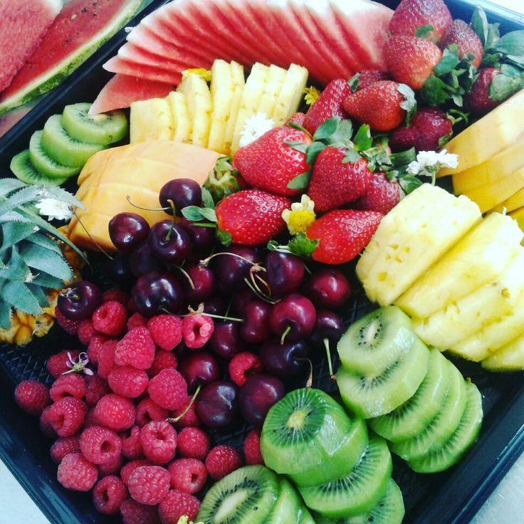 Fresh fruit platter!