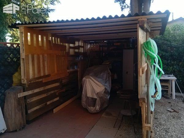 Pallet Motorcycle Garage/Tool Storage Shed Pallet Sheds, Pallet Cabins, Pallet Huts & Pallet Playhouses
