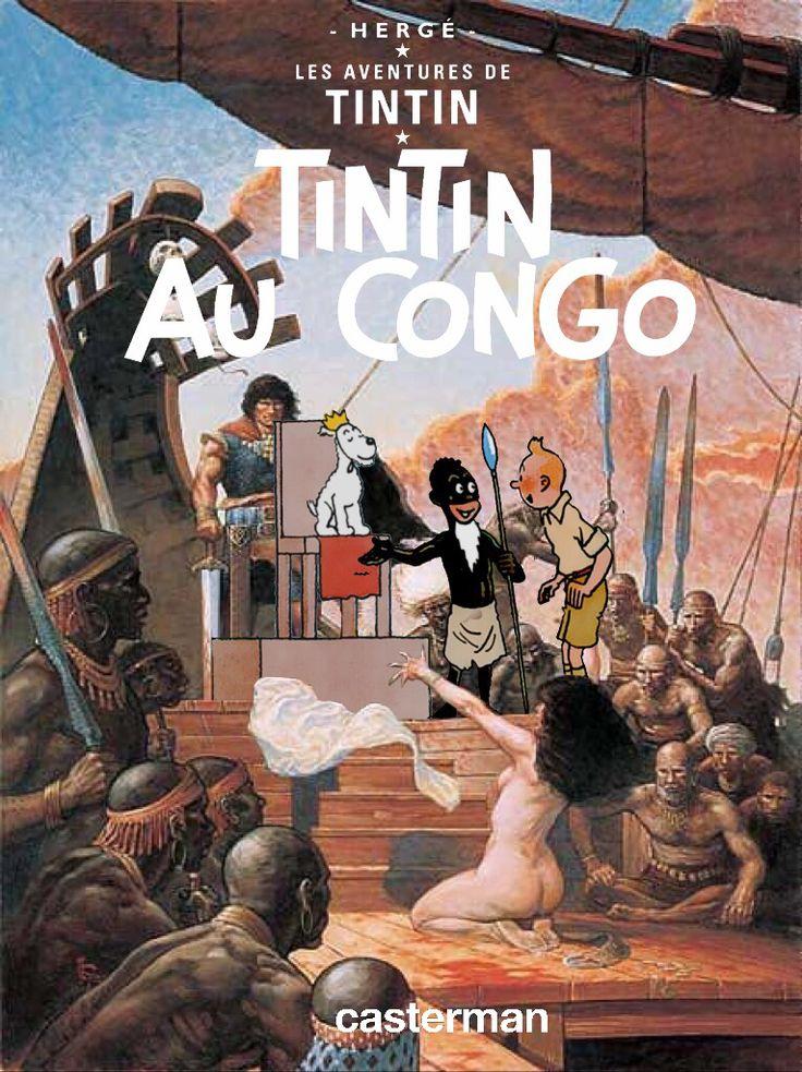Les Aventures de Tintin - Album Imaginaire - Tintin au Congo