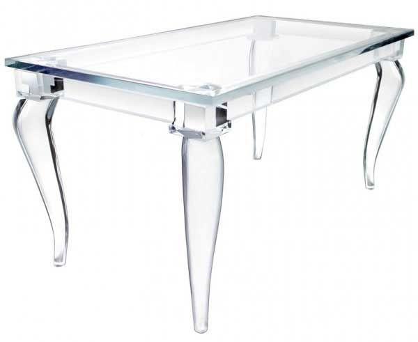 1000 ideas about acrylic table on pinterest acrylic - Table gigogne plexi ...