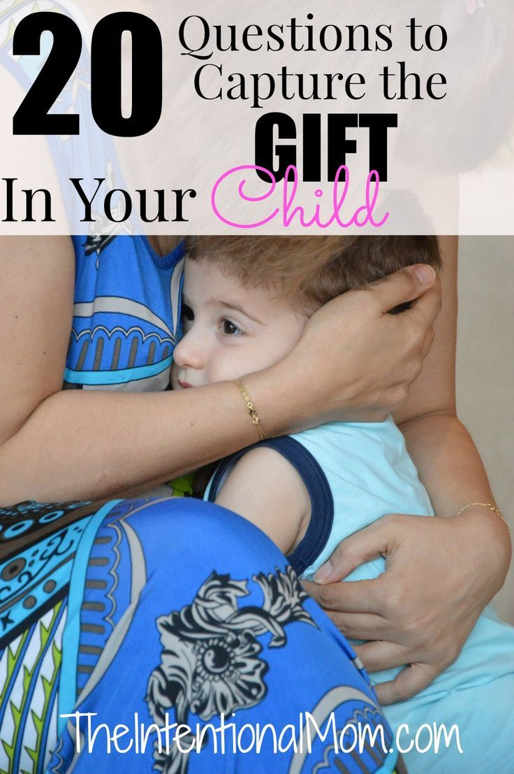 How well do you know your child? Truly knowing our child is the first step in learning to see them for the gift that they are. These questions are perfect!