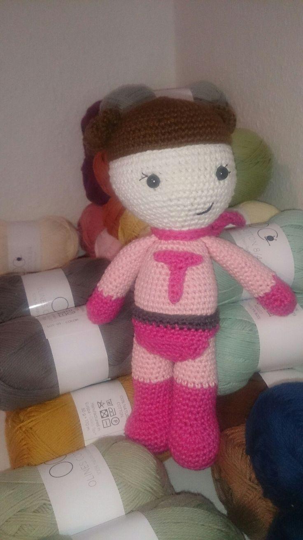 Crochet superGirl