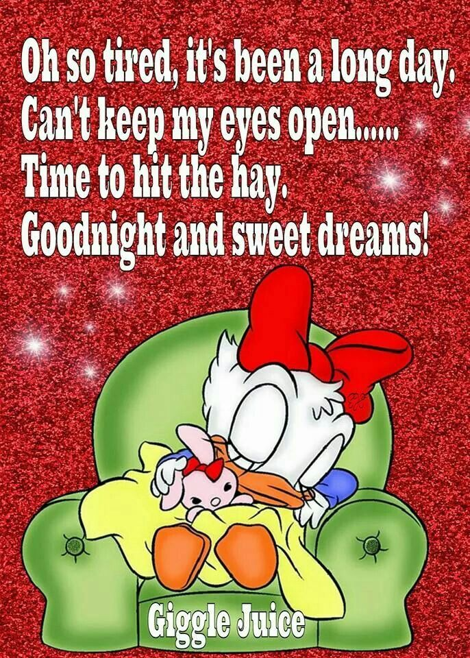 Goodnight and sweet dreams!