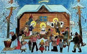 Výsledek obrázku pro josef lada vánoce