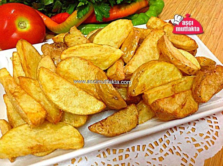Elma Dilimli Patates Kızartması   Aşçı Mutfakta