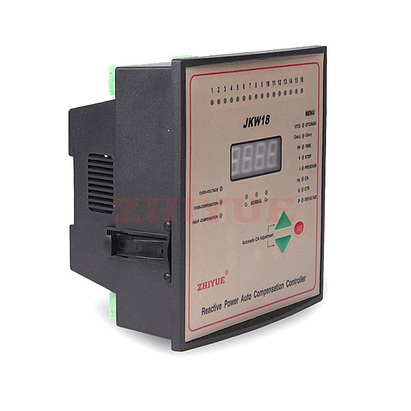 Jkw18 Series Intelligent Low Voltage Reactive Auto Compensation Controller Abbr Controller Are Used For Measurement An Control Unit Microcontrollers Capacitor