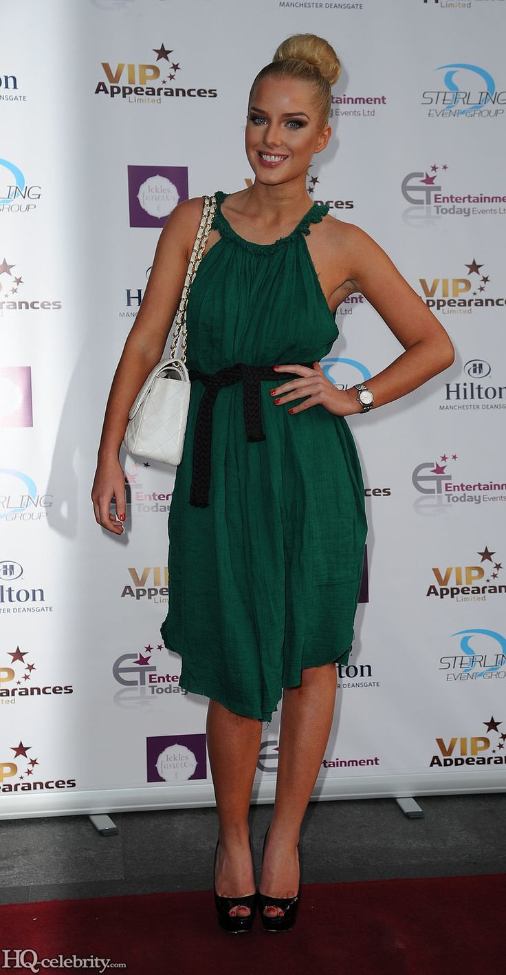 Helen Flanagan Goes Classy Which Surprises Me - http://www.hqcelebshome.com/2013/06/helen-flanagan-goes-classy-which-surprises-me.html