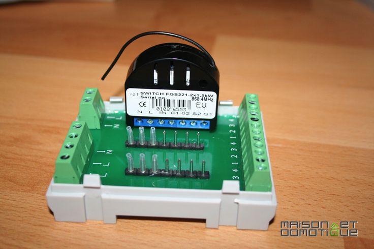 Comment monter un module Fibaro en Rail Din ? - http://maison-et-domotique.com/49908-comment-monter-un-module-fibaro-en-rail-din/