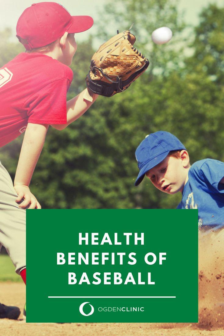 Health Benefits Of Baseball Health Benefits Health Baseball