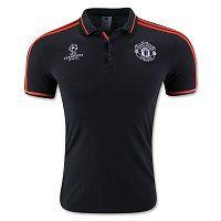 Manchester United 2015-16 Season Black Europa Training Shirt