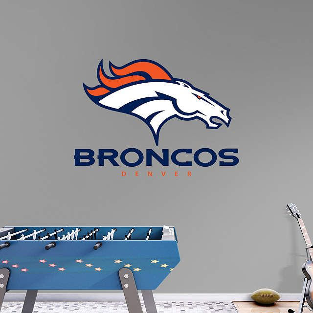 Denver Broncos Wall Decor 521 best bronco nation bathroom & household decor images on