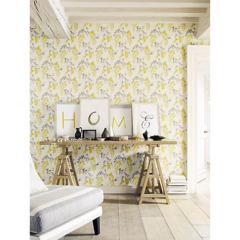 Buy Sanderson Wisteria Blossoms Paste the Wall Wallpaper Online at johnlewis.com