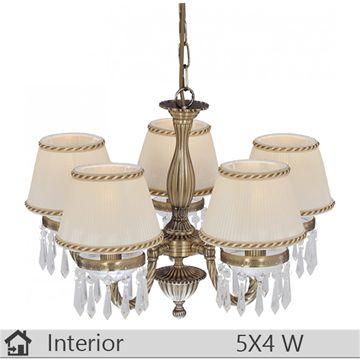 Lustra iluminat decorativ interior Klausen, gama Burma, model nr5