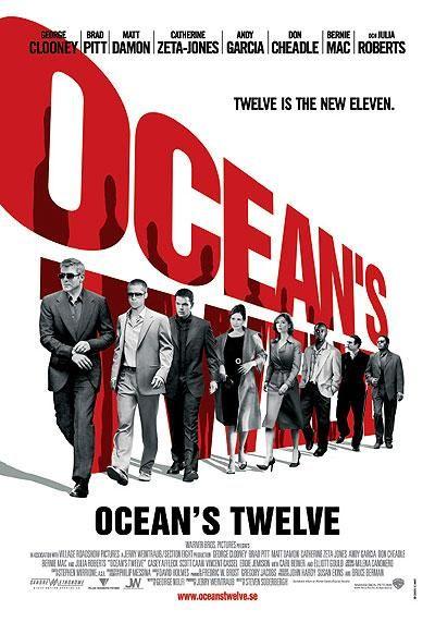 Ocean`s Twelve. 2004. (5,5/10)