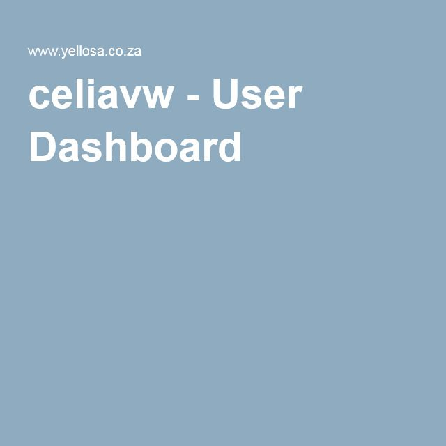 celiavw - User Dashboard