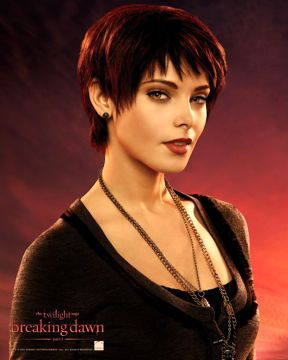 Alice Cullen - Twilight Saga character Not a fan of the movies but love Ashley Greene's haircut.