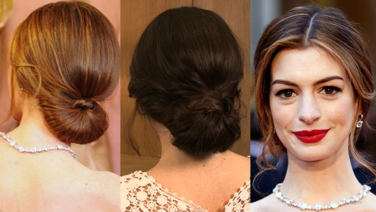 See How to Get Anne Hathaway's Oscars Red-Carpet Hairstyle