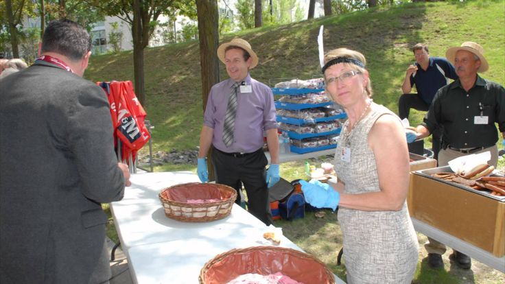 """Southlake Regional Health Centre hosted a """"roaring 20's"""" barbecue for Our People, in celebration of Southlake's 90th anniversary."""