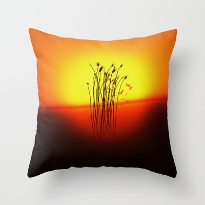 Summertime 2 - Throw Pillow Cover made from 100% spun polyester poplin fabric, a stylish statement that will liven up any room.