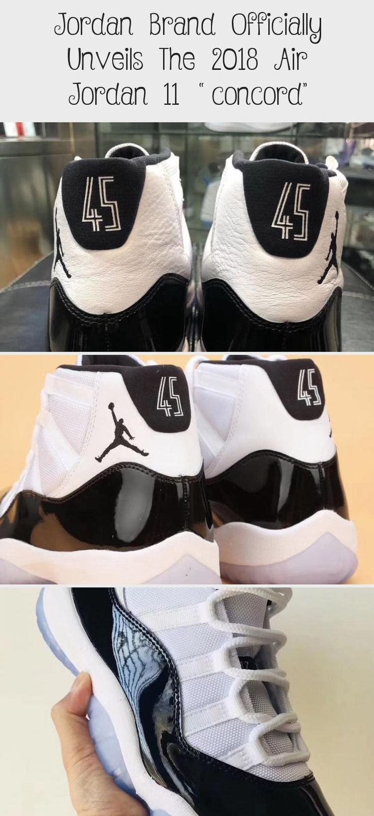 Jordan Brand Officially Unveils The 2018 Air Jordan 11