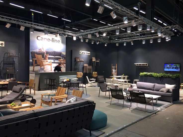 This is from our Stockholm Furniture fair 2015. #Outdoor2015 #Caneline #Danishdesign