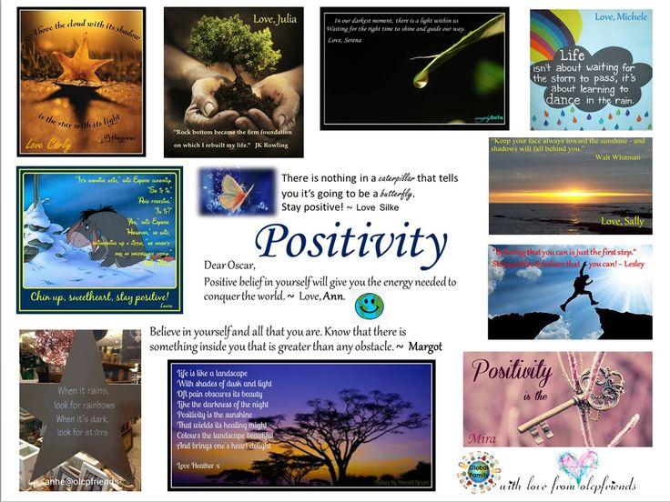 Oscar Pistorius, positivity, collage, support