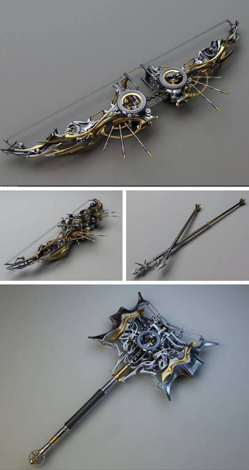 Steampunk Tendencies | Concept Design by Samouel #Concept #Weapons #Steampunk