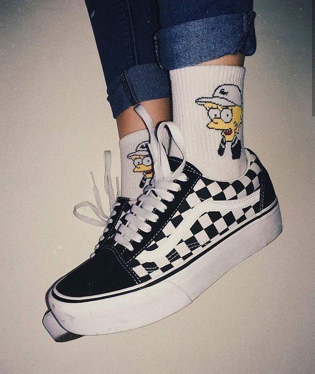 conversa vans style chaussures