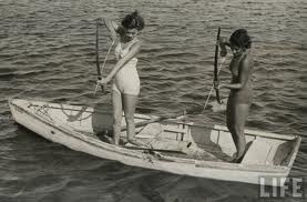 .: Buckets Lists, Vintage Boats, Fish Sexy, Girls Power, Baking Eggs, Bows Fish, Eggs Napoleon, Bow Fishing, Favourit Pin
