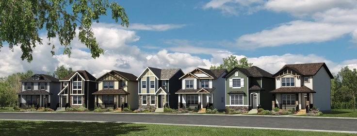 Our debut collection of seven clever laned homes, as functional as they are fashionable!  At prices you will relish. Now available in the community of Nolan Hill, Calgary. Visit us at www.marketstreethomes.com for details!