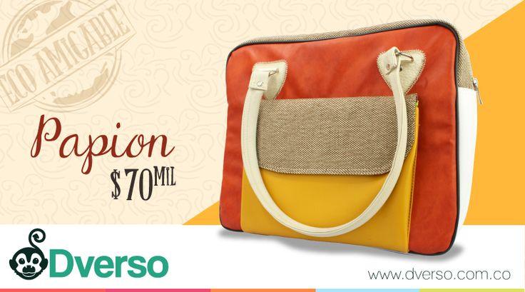 Papion, el bolso ideal para que lleves tus cosas con estilo.