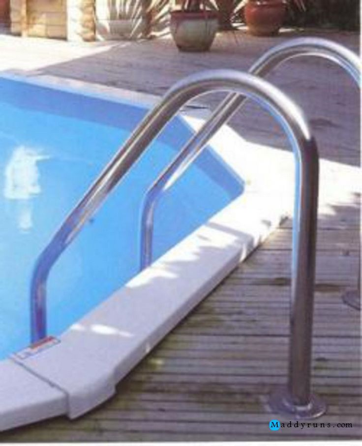 25 best ideas about pool ladder on pinterest swimming pool ladders above ground pool ladders - Above ground pool steps for handicap ...