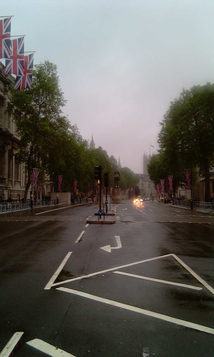 Streets of London on a Sunday