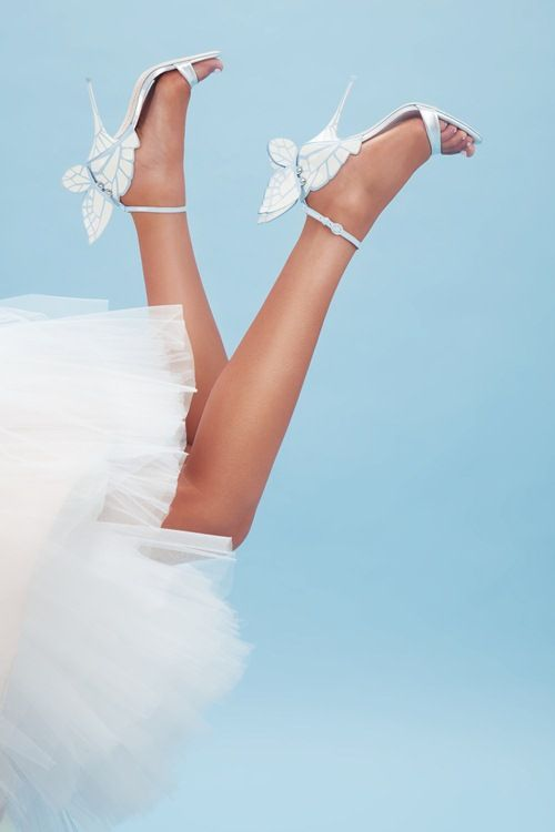 Sophia Webster's butterfly heels are perfect for whimsical brides!   Brides.com