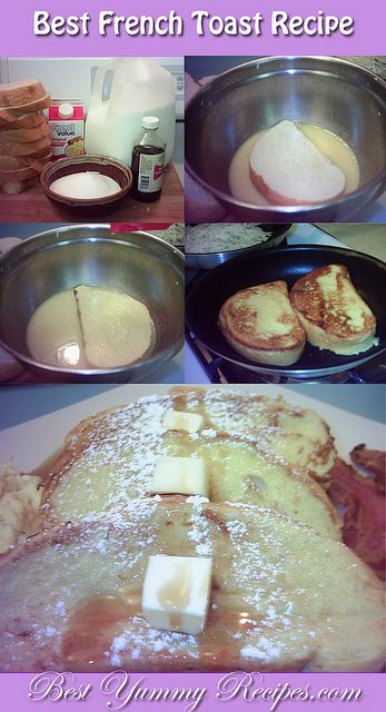 Best French Toast Recipe full recipe Step by Step