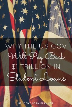 Based on what I see as a private student loan consultant, the US will forgive $1 trillion of student debt over the next 20 years.