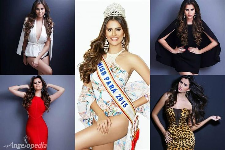 Meet Carolinne Ribas Miss Pará 2015 for Miss Brazil 2015