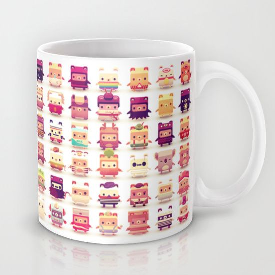 I love it! An Alphabear mug. Very cute.  :)