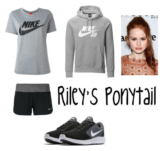 """""""Riley's Sport (ch.33)"""" by xrielle17 on Polyvore featuring NIKE"""