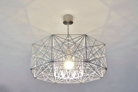 Modern Lamp ceiling light  geometric MYSTIC ROSE