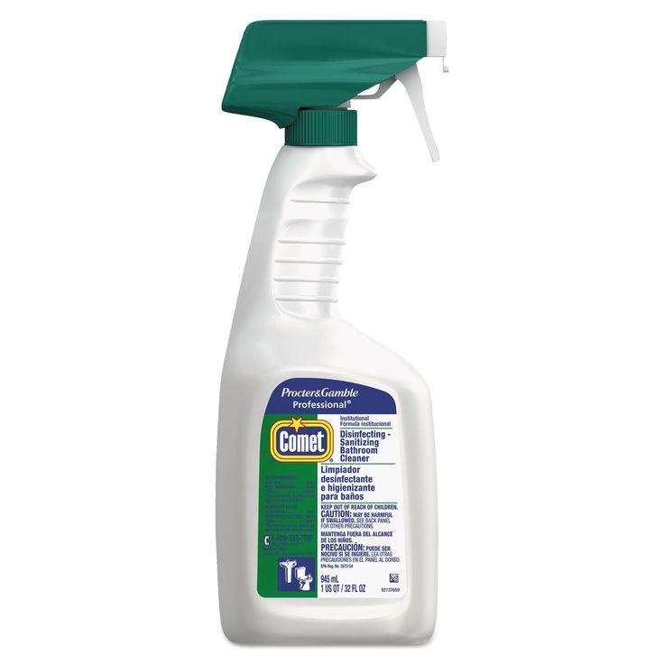 Comet Disinfectant Bath Cleaner 32-ounce Trigger Bottle