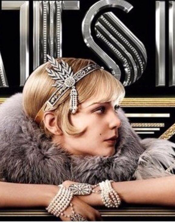 Vintage hårpynt og armbånd The Great Gatsby - Kjøp i nettbutikken vår eller i butikk ABELONE.NO