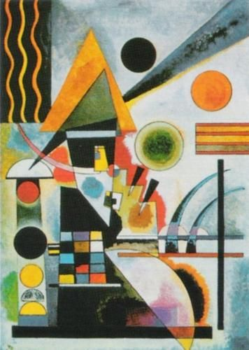 Swinging, 1925 by Wassily Kandinsky - art print from King & McGaw