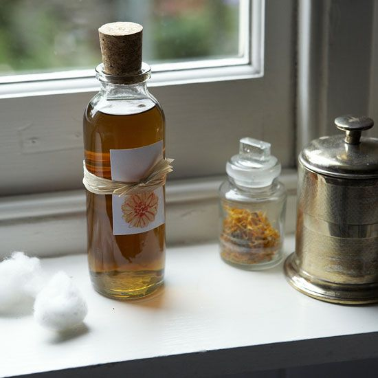 Natural Face Toner Infused with Marigold Petals – Healthy Home