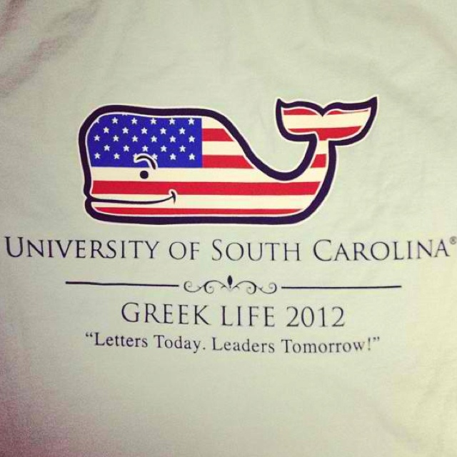 Want this for SFA: Greek Letters, Greek Shirts, Greek Week, Leader Tomorrow, Tshirt Idea, Vineyard Vines, Greek Life, Letters Today, Going Greek